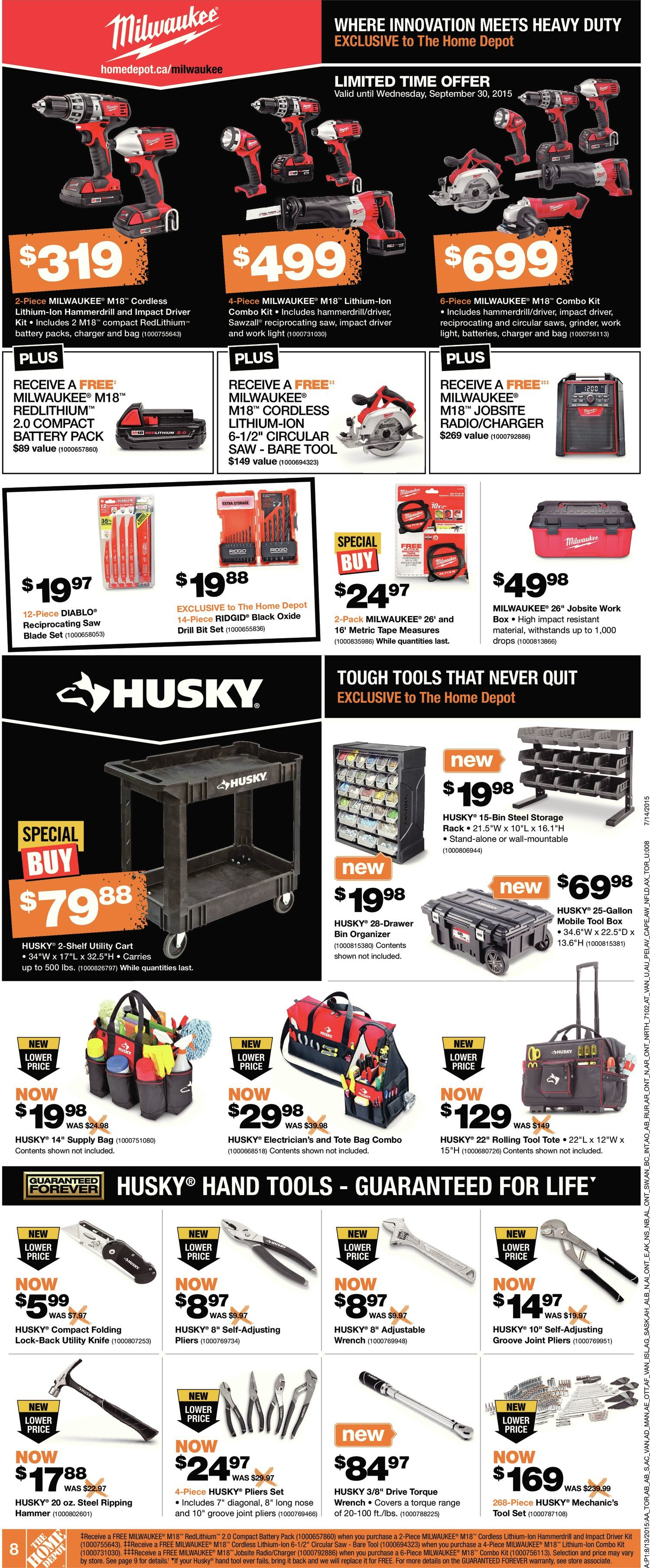 Home Depot Weekly Flyer Aug 13 19 Fuse Box Covers