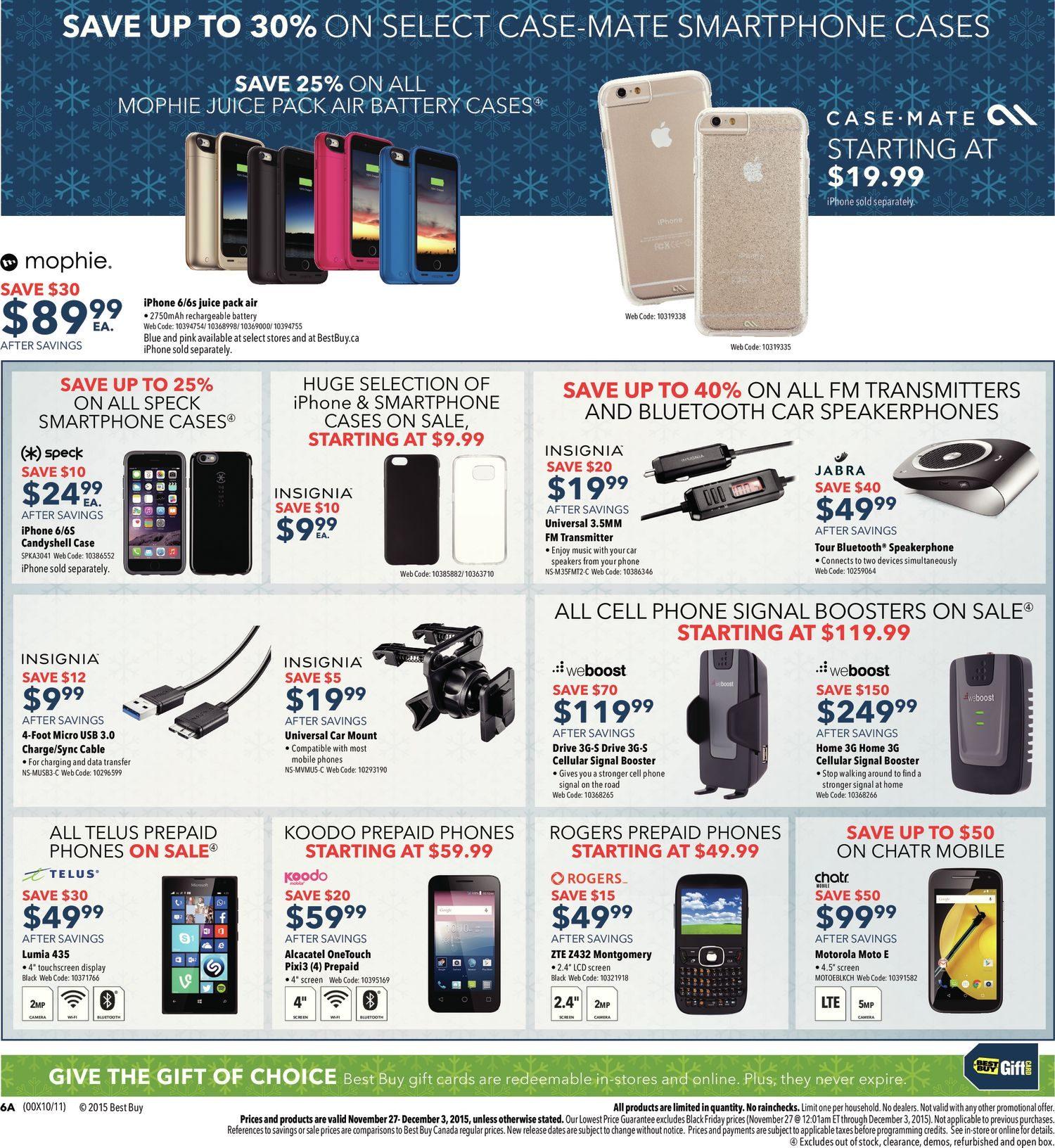 Iphone deals canada black friday