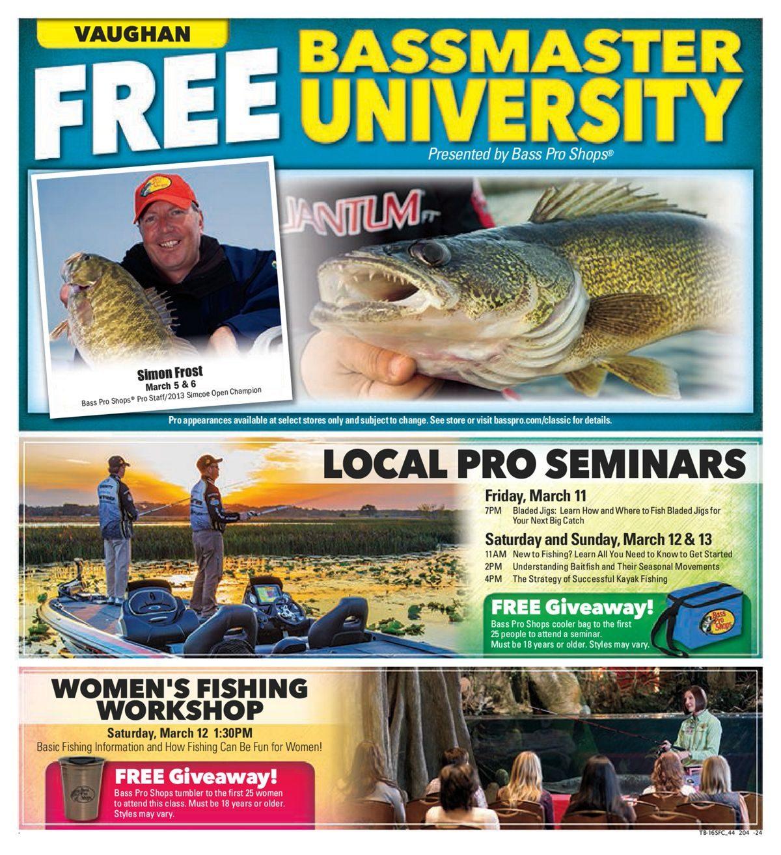 8964b286 Bass Pro Shops Weekly Flyer - Vaughan - Spring Fishing Classic! - Mar 4 –  13 - RedFlagDeals.com
