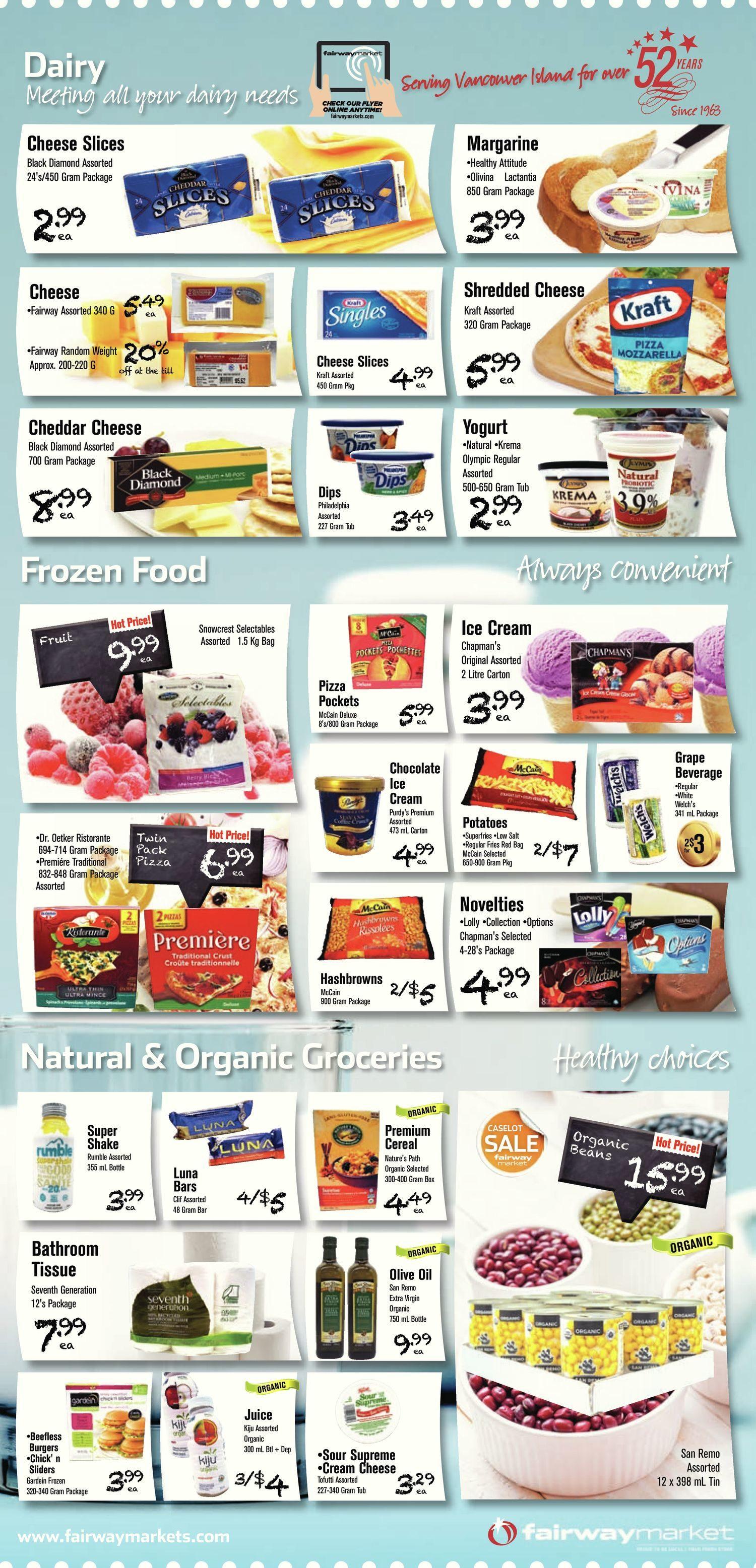 Fairway Market Weekly Flyer Family Pack Savings Jul 22 Maxim Antiperspirant Deodorant Rol On 28