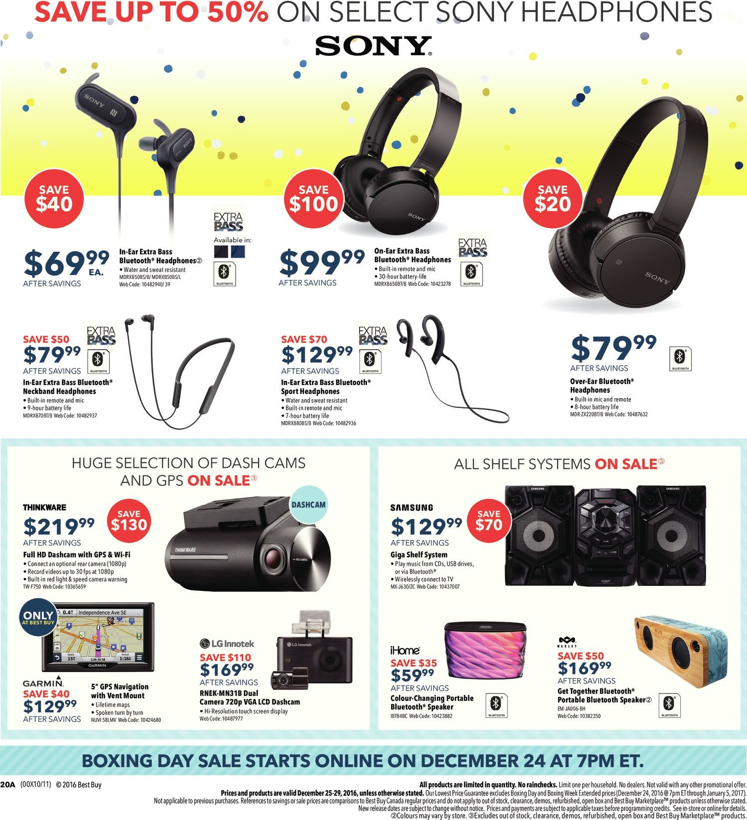 Best Buy Weekly Flyer Boxing Day Sale Dec 25 29 Sades 919 Antena Gaming Headset