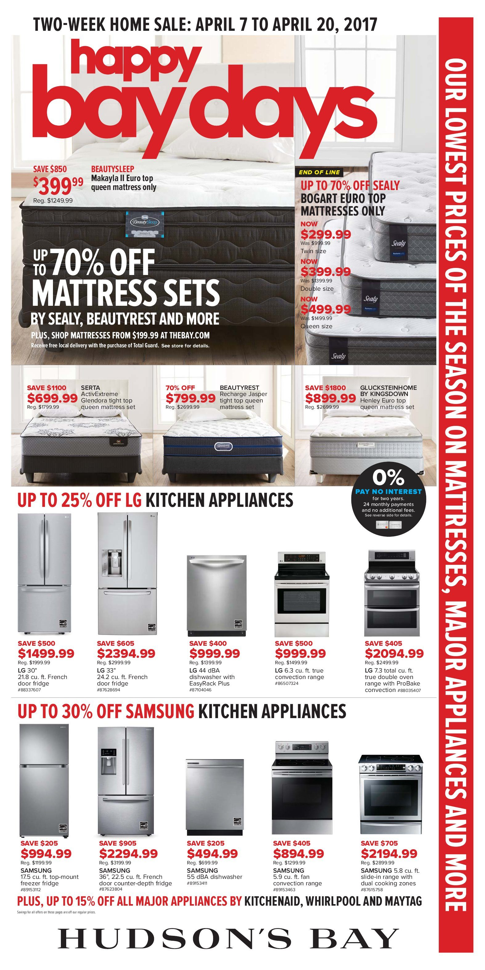 The Bay Weekly Flyer Two Week Home Sale Happy Bay Days Apr 7