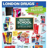 - Back To School Essentials Flyer