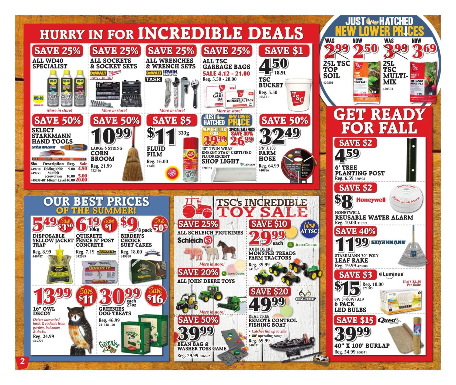 TSC Stores Weekly Flyer - Weekly - Aug 18 – 24