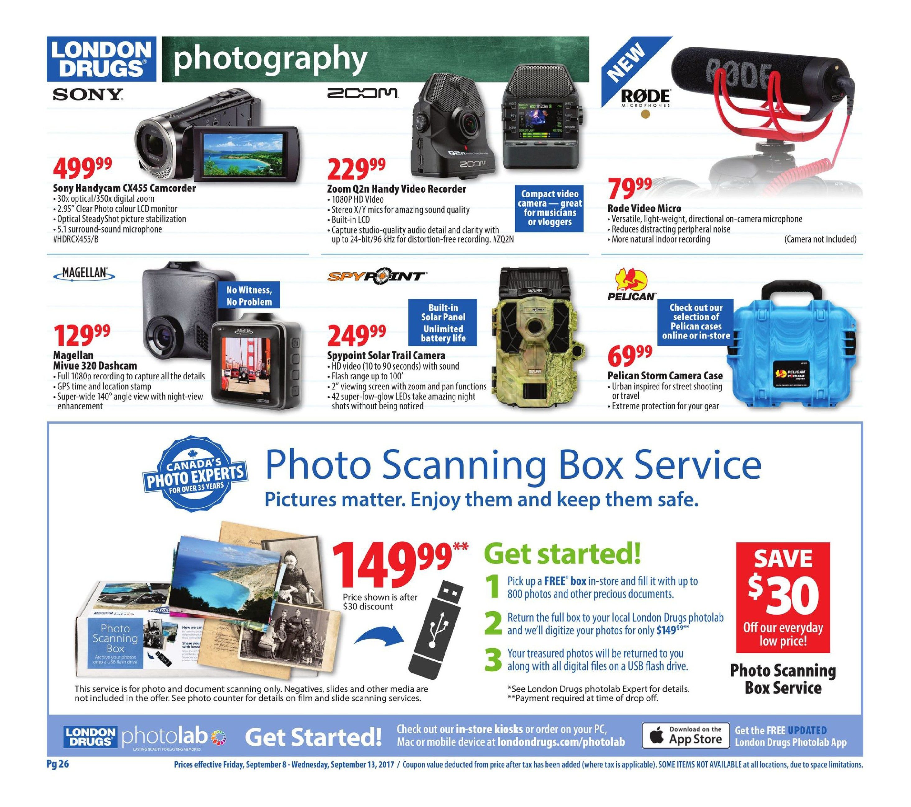 London Drugs Weekly Flyer Back To Busy Essentials Sep 8 13 The Single Large Doublesided Circuit Board From A Canon Canola