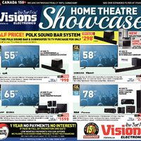 Visions Electronics - Weekly - Home Theatre Showcase Flyer