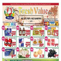 - Weekly Specials - Autumn Seasons Sale Flyer