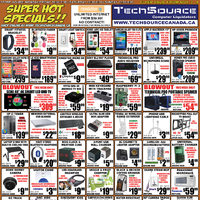 Tech Source - Super Hot Specials!! Flyer
