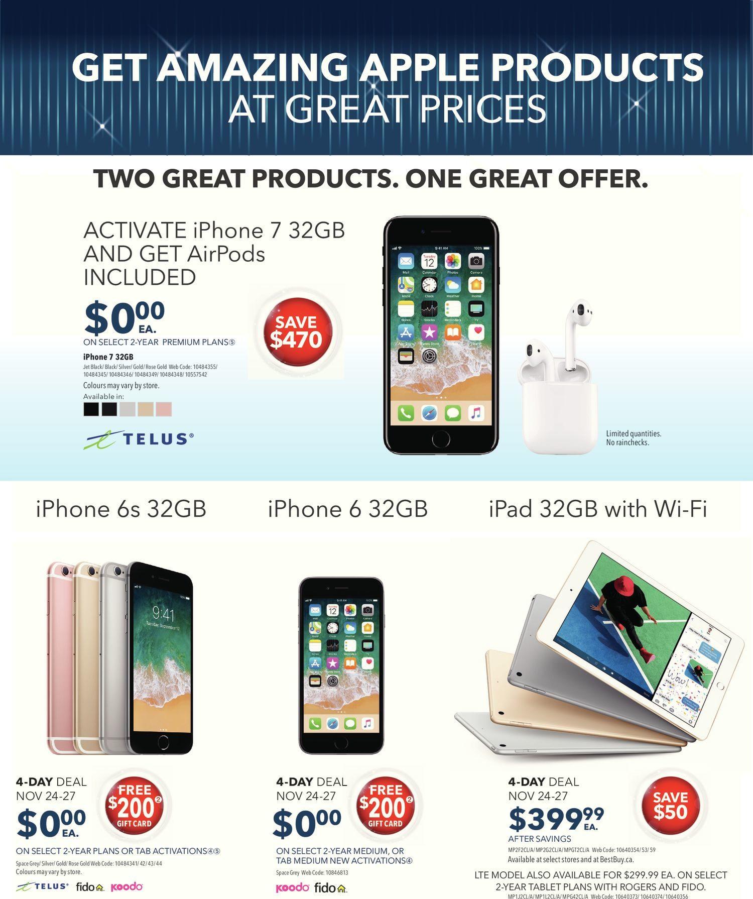 Best Buy Weekly Flyer - Weekly - Black Friday Sale - Nov 24 – 30