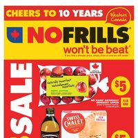 No Frills - Weekly - $5 Sale Flyer