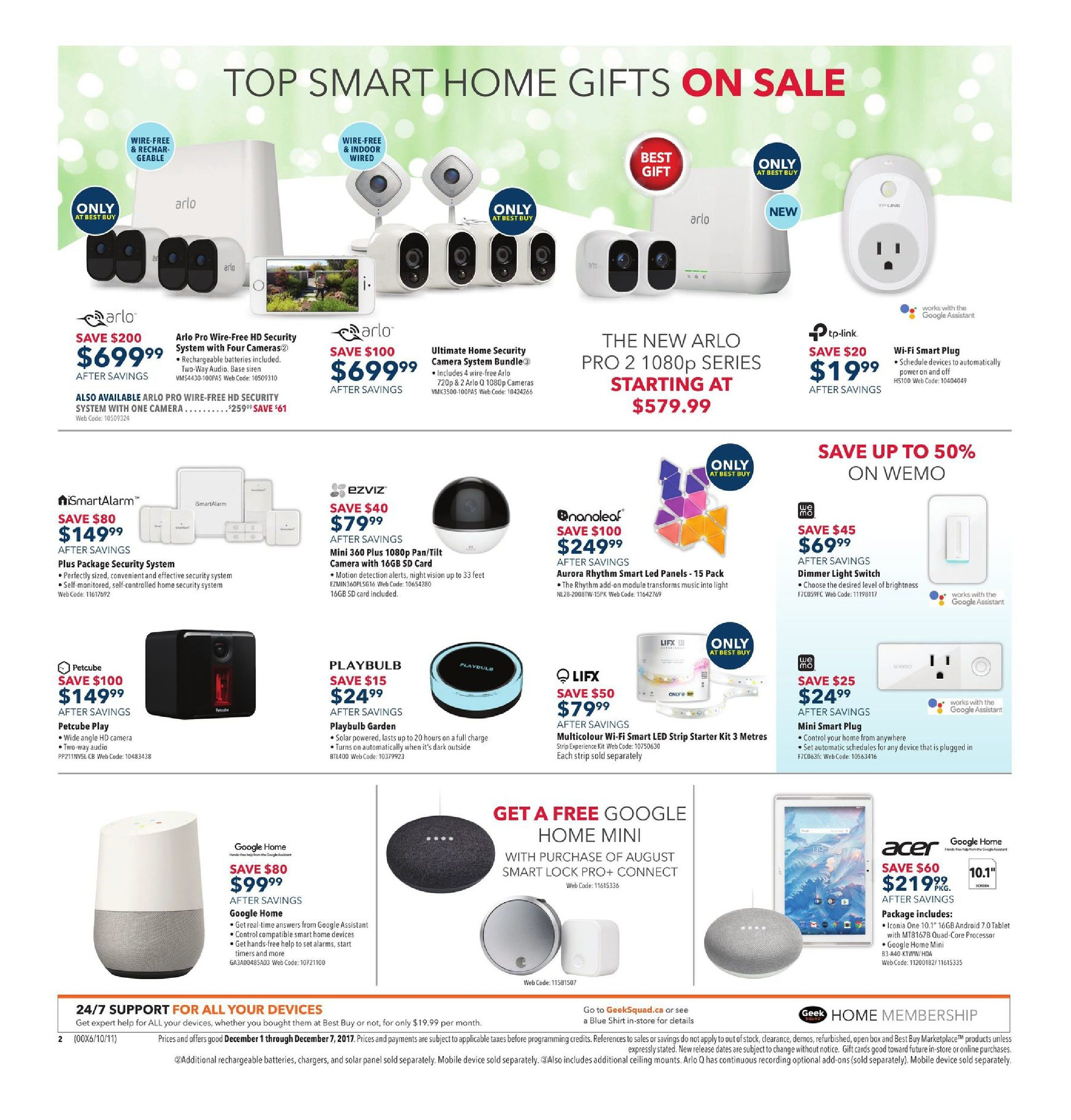 Best Buy Weekly Flyer - Weekly - Find Dazzling Gifts - Dec 1