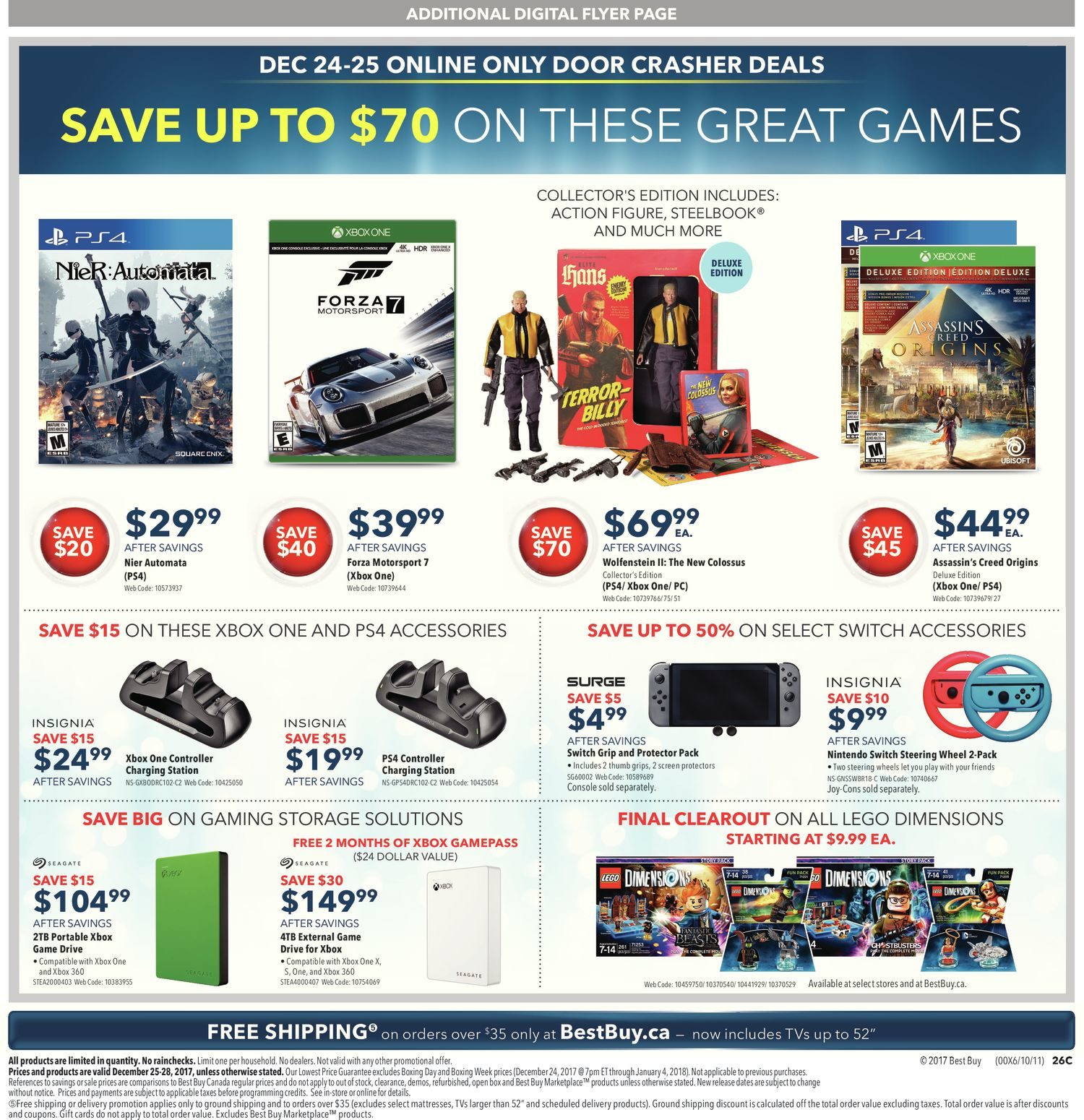 Best Buy Weekly Flyer - Boxing Day Sale - Dec 25 – 25
