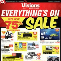 Visions Electronics - Weekly - Everything's On Sale Flyer