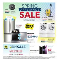 Best Buy - Weekly - Spring Appliance Sale Flyer