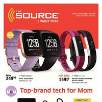 The Source - 2 Weeks of Savings - Top-Brand Tech for Mom Flyer