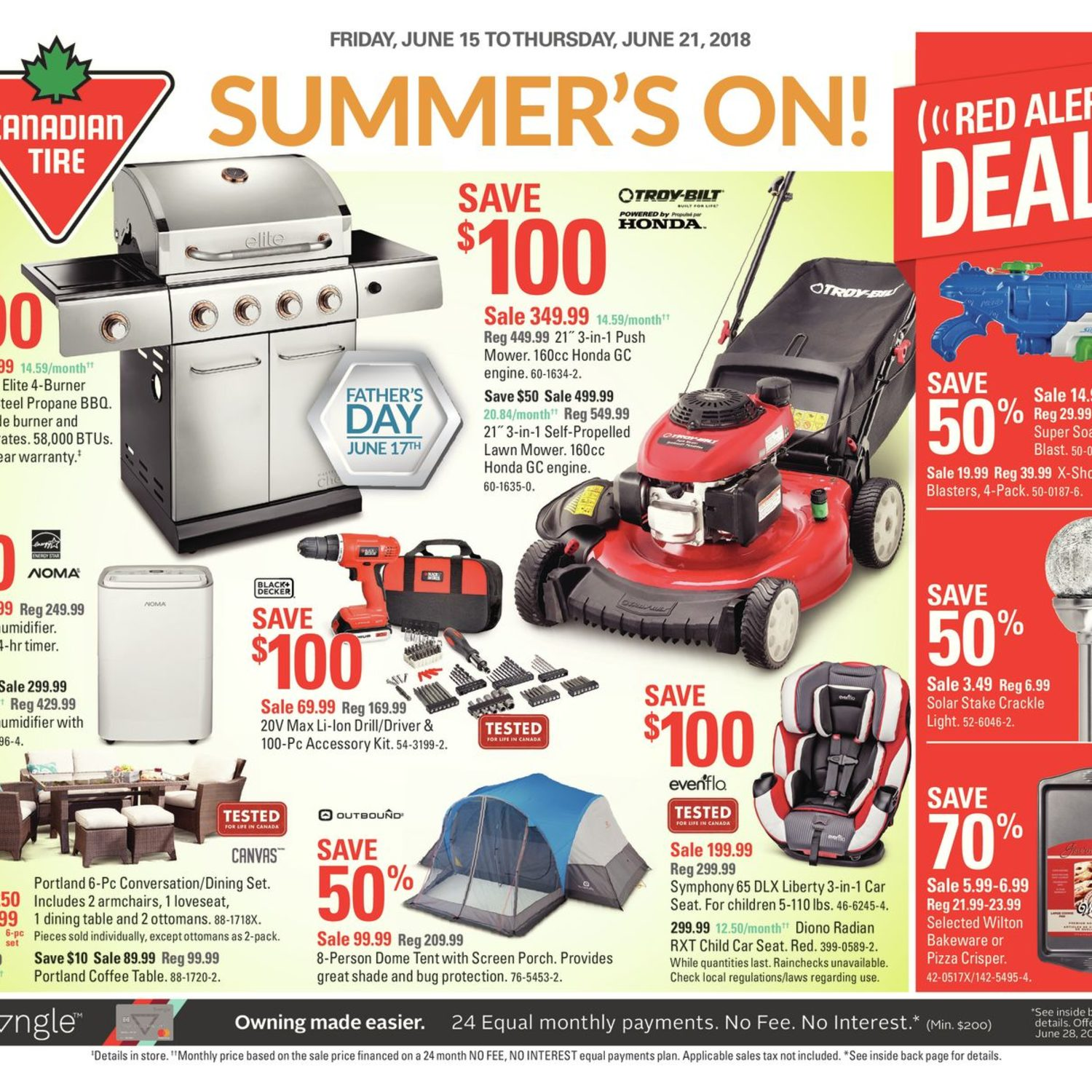 Canadian Tire Weekly Flyer Weekly Summer S On Jun 15