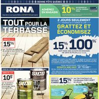 Rona - Weekly - Everything For Your Deck Flyer
