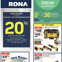 Rona - Weekly - Bathroom Event Flyer