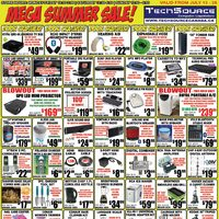 Tech Source - Mega Summer Sale! Flyer
