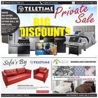 Teletime.ca - Private Sale Flyer