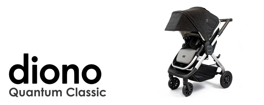 A Look at Diono's New Quantum Classic Stroller