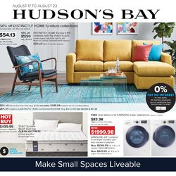 The Bay - Make Small Spaces Liveable Flyer