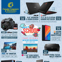 Canada Computers - Back To School - Top Picks Flyer
