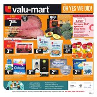 Valu-Mart - Weekly - The Oh Yes We Did! Event Flyer