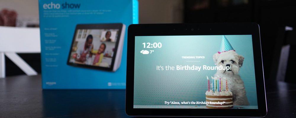 Enhance Your Smart Home With The 2nd Generation Echo Show From Amazon