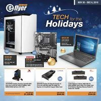 - Tech For The Holidays Flyer