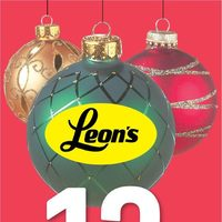 Leon's - Boxing Day Preview Flyer