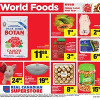 Real Canadian Superstore - World Foods - Happy Lunar New Year Flyer