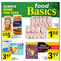 Foodbasics - Weekly - Always More for Less Flyer