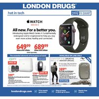 London Drugs - Hot In Tech Flyer