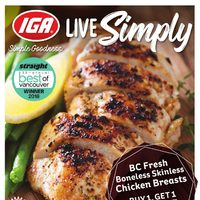 MarketPlace IGA - Weekly Specials - Live Simply Flyer