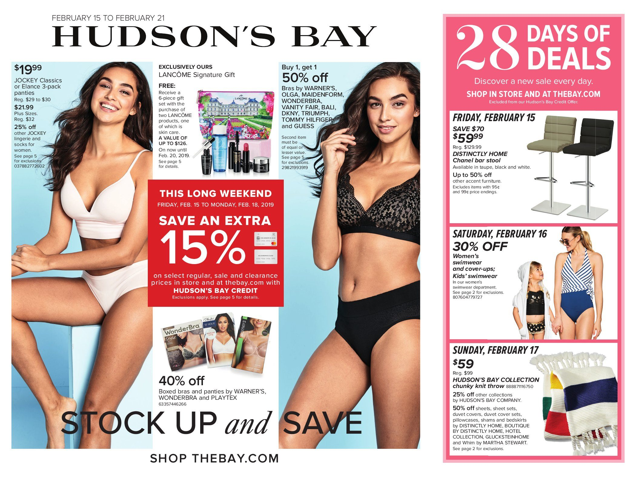 11b903bb8b09 The Bay Weekly Flyer - Weekly - Stock Up & Save - Feb 15 – 21 -  RedFlagDeals.com