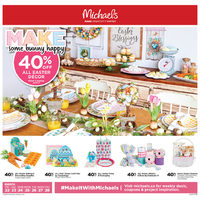 Michaels - Weekly - Make Some Bunny Happy Flyer