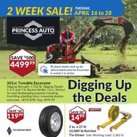 Princess Auto - 2 Week Sale! - Digging Up The Deals Flyer