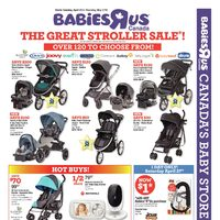 Babies R Us - The Great Stroller Sale! Flyer