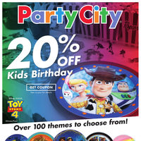Party City - Make Your Party A Hit! - Toy Story Edition Flyer