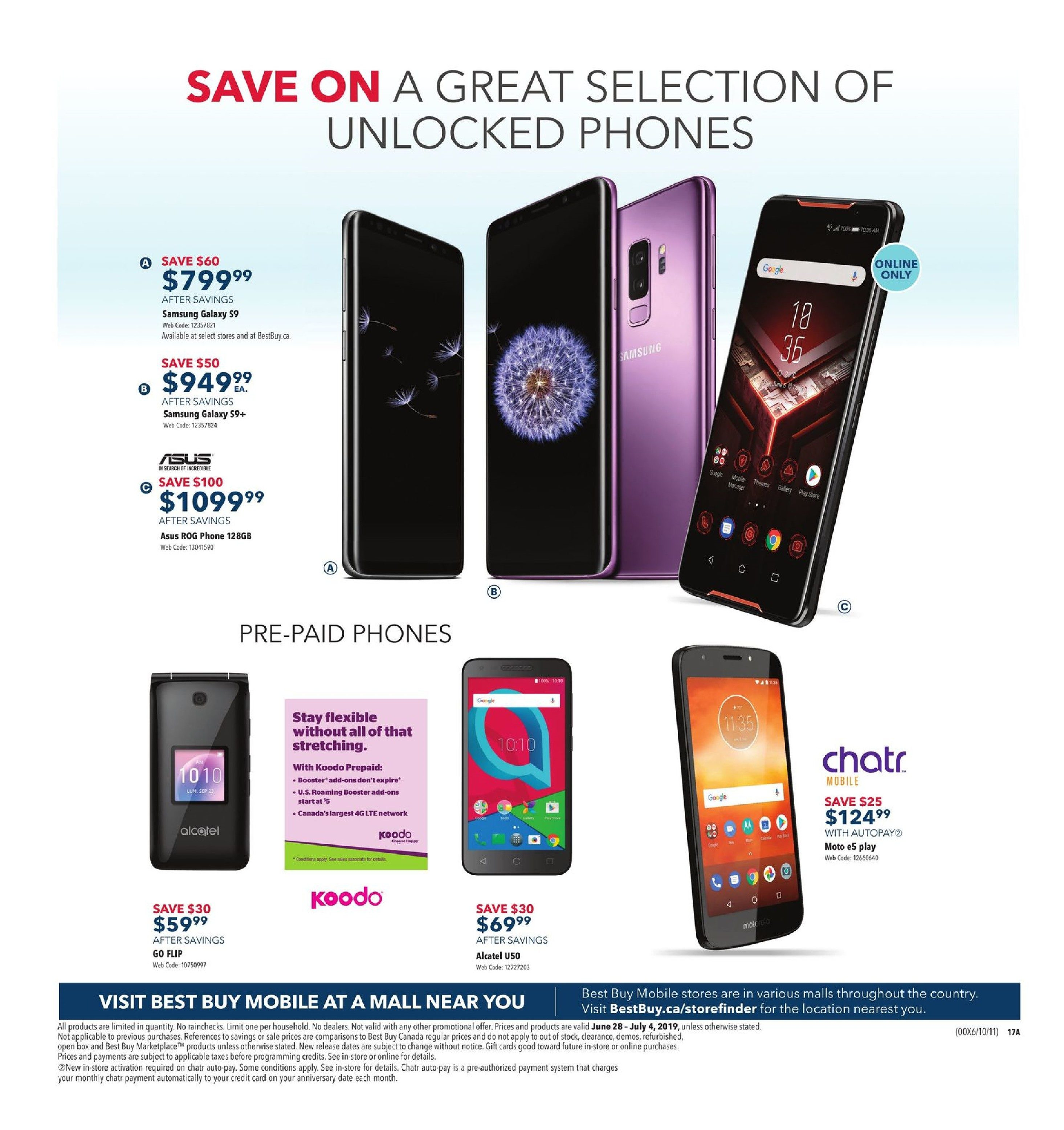Best Buy Weekly Flyer - Weekly - Boxing Day in Summer Sale