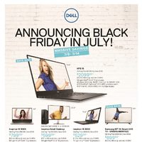 - Announcing Black Friday In July! Flyer