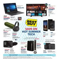 - Weekly - Save on Hot Summer Tech Flyer