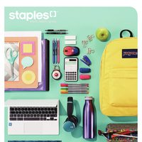 Staples - Back To School Guide Flyer