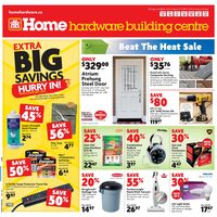 Home Hardware - Building Centre - Beat The Heat Sale Flyer