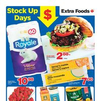 Extra Foods - Weekly - Stock Up Days Flyer