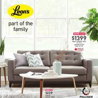 Leon's - Part of The Family Flyer