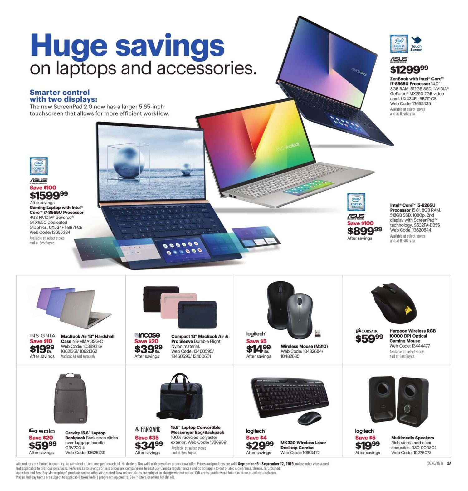 Best Buy Weekly Flyer - Weekly - Extended Labour Day Sale