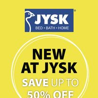 - Weekly - New At JYSK Flyer