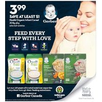 Nestle Organic Infant Cereal